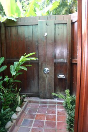 Stonefield Villa Resort: Outdoor shower