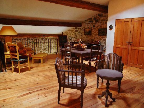 Le Mas du Haut-Roussillac: Guest living room