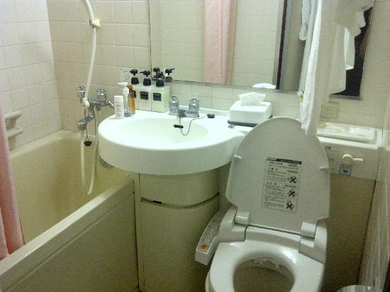 โรงแรมนิฮงบาชิ วิลล่า: Toilet