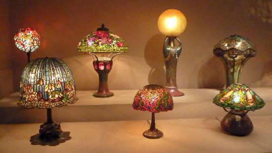 Virginia Museum of Fine Arts: Tiffany lamps
