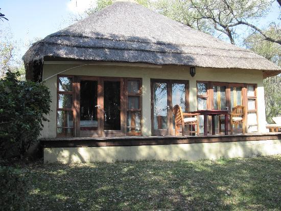 """Dulini River Lodge: Our """"cottage"""" with plunge pool"""