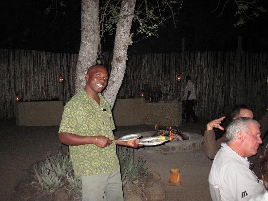 Dulini River Lodge: Christopher-He's the best!!!!