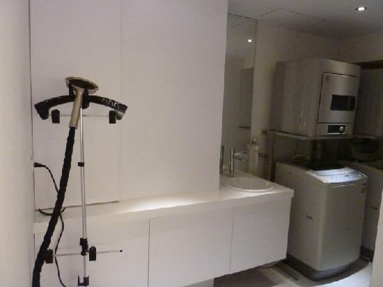 CityInn Hotel Plus - Ximending Branch: B1 floor laundry room