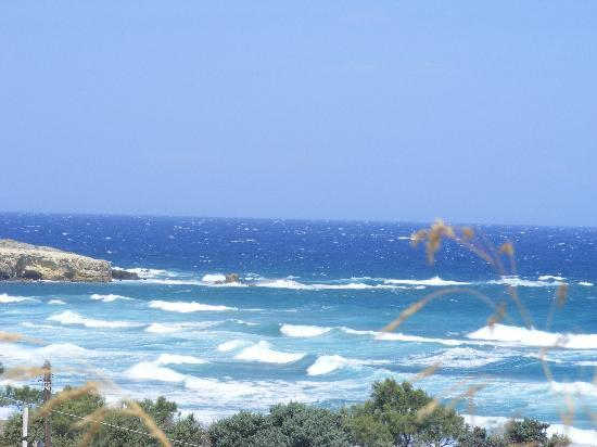 En Milo: North coast on a windy day!