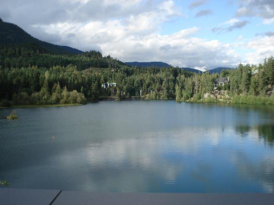 Nita Lake Lodge: View from balconey