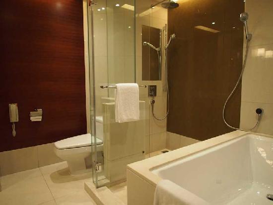 โรงแรมไฮแอทรีเจนซี่ ฮ่องกง จิมซาจุ่ย: Spacious Bathroom