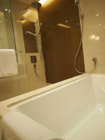 โรงแรมไฮแอทรีเจนซี่ ฮ่องกง จิมซาจุ่ย: Shower and Tub