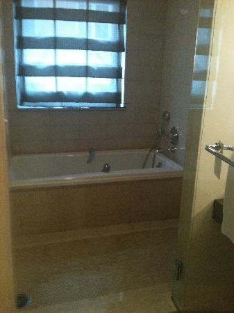 Battery Wharf Hotel, Boston Waterfront: Bathtub/Shower