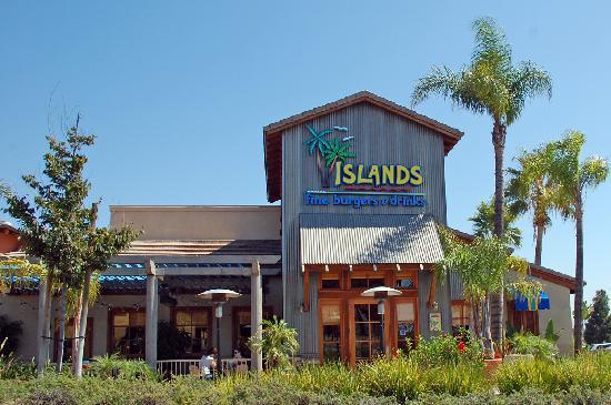 Islands: outside building