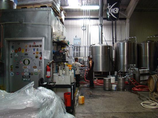 Maui Brewing Co. Brewpub: Brewery Tour