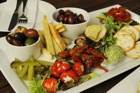 ดับโบ, ออสเตรเลีย: Dubbo Food platter with local produce