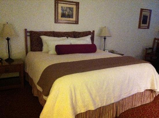 Best Western Sonoma Valley Inn & Krug Event Center: Bed Area