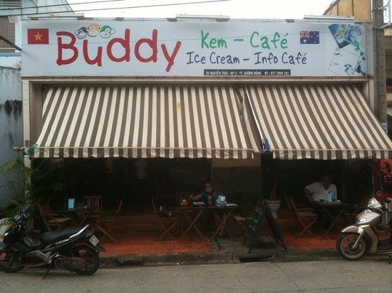 Buddy Ice Cream & Info Cafe : Buddy Cafe, Phu Quoc