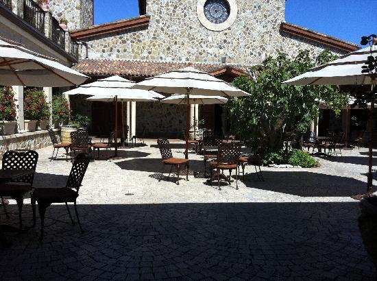 Jacuzzi Family Vineyards: Outdoor Area