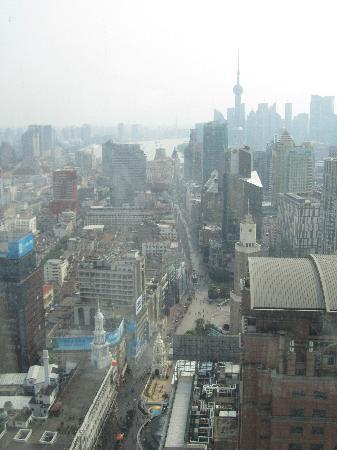 โรงแรมเลอ รอยัล เมอริเดียน เซี่ยงไฮ้: View From the room