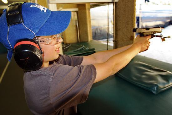 Hamilton Island Target Sports: 9mm