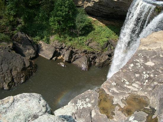 Noccalula Falls Park & Campground: view of the falls