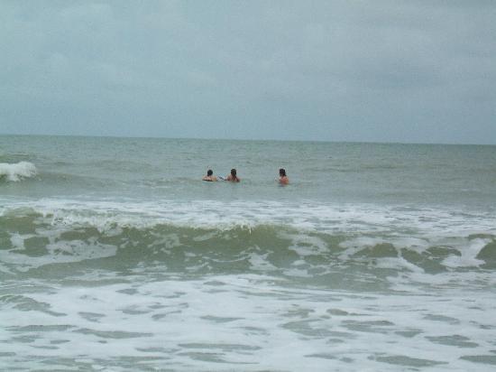 Madeira Beach: Me & the kids