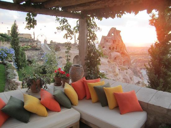 Argos in Cappadocia: yet another great spot to curl up and read a book
