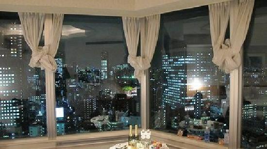 โรงแรมเดอะปรินท์ พาร์ค โตเกียว: 29階からの夜景