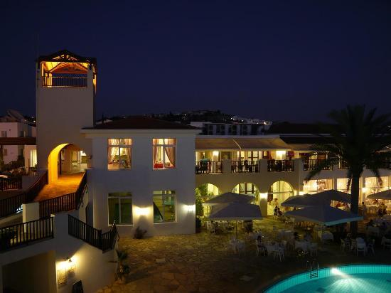 Akti Beach Village Resort : View from our room at night