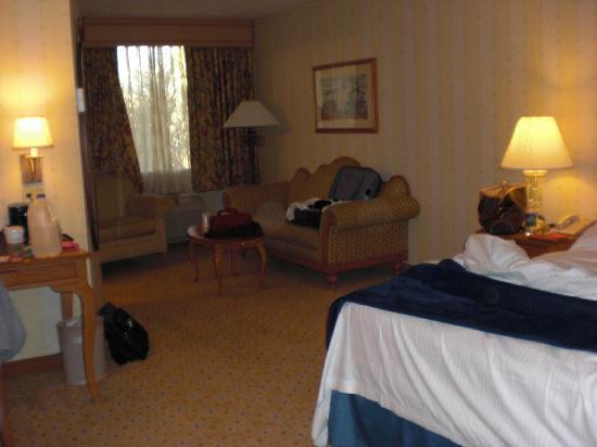 เดอะออร์ลีนส์ โฮเต็ล&คาสิโน: roomy rooms, yucky couch