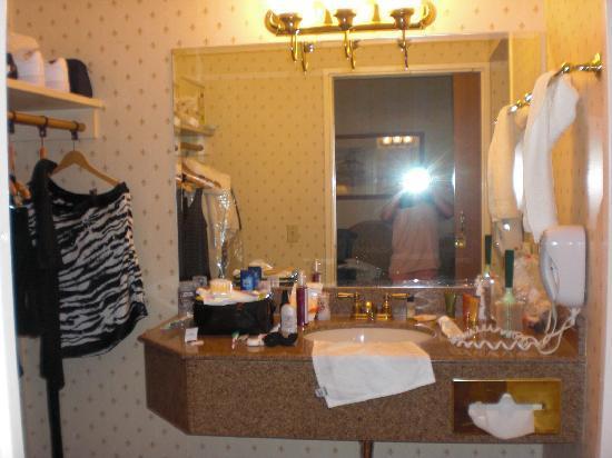 เดอะออร์ลีนส์ โฮเต็ล&คาสิโน: housekeeping never cleaned the mirrors daily. always water stains and streaks