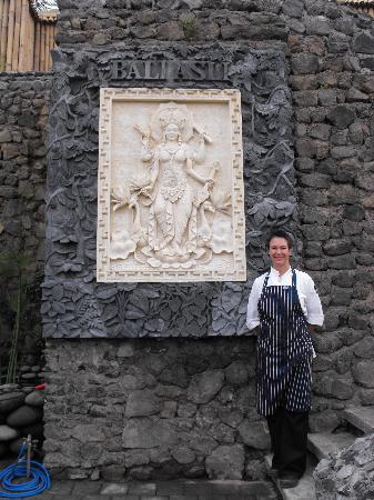 Bali Asli Restaurant: Chef-owner Penny