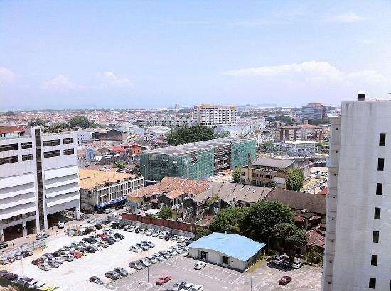 Bayview Hotel Melaka: View from room on 17th floor
