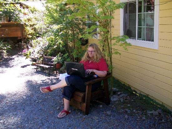 Elim Grove Cottages: Free wifi!