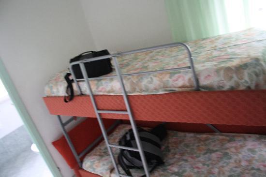 Hotel Sirena : Hoch(Doppel-)Bett
