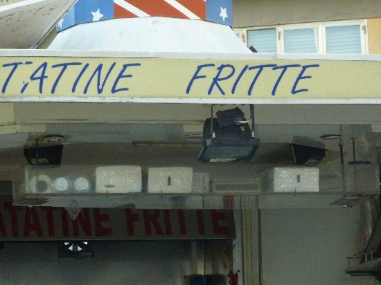 Diva Hotel : Friterie à proximité