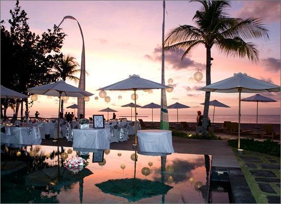 ตูบัน, อินโดนีเซีย: Dining Setup for Wedding at Boardwalk restaurant