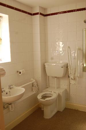 Best Western Priory Hotel: High loo with no lid