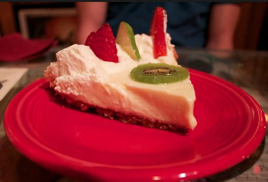 The Bubble Room Restaurant: The keylime pie