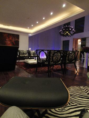 Le Parc Hotel: hall dell'Hotel