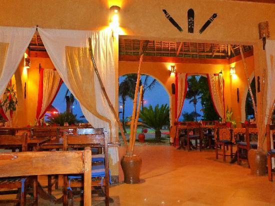 Waikiki Zanzibar Resort: ristorante