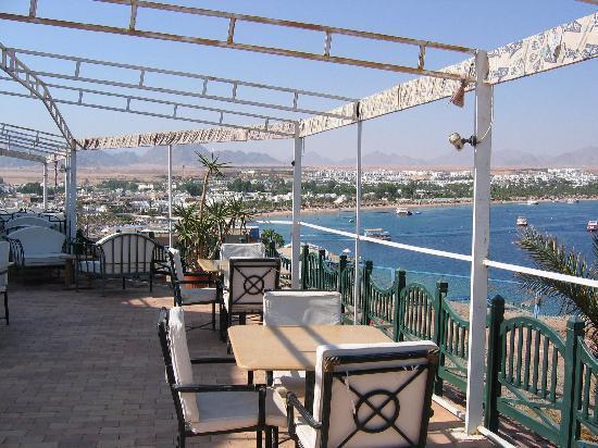 Halomy Hotel: Halomy - view from the bar