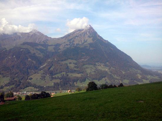 Gasthof Engelberg: Beeindruckende Berge - der Niesen