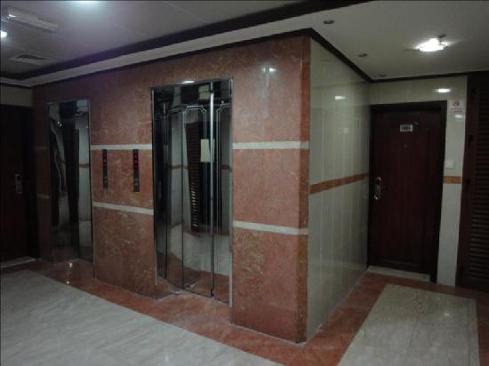 Elevators , Al Jazeerah Hotel Sharjah UAE