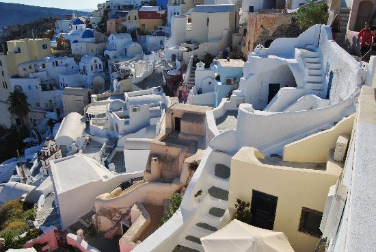 Perissa, Grecia: Vista di Oia
