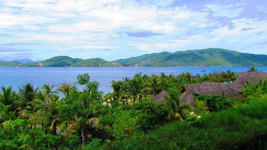 MerPerle Hon Tam Resort: la vista dal bungalow