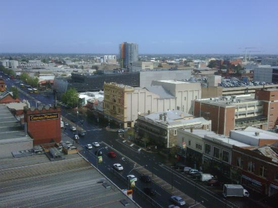 ฮิลตัน แอดิเลด: View from Room 1003 - Central Mkts