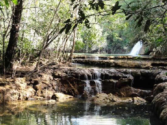 Estancia Mimosa Ecoturismo: waterfall