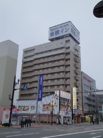 Toyoko Inn Kushiro Jujigai: 外觀