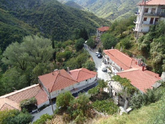 Greece Taxi: Small Village