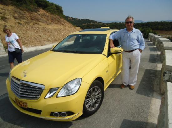 Greece Taxi: Aristeidis's Mercedes