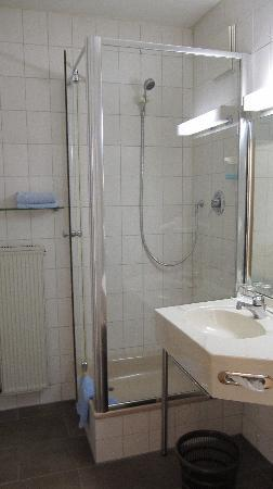 Hotel Garni Schwertfirm : bagno