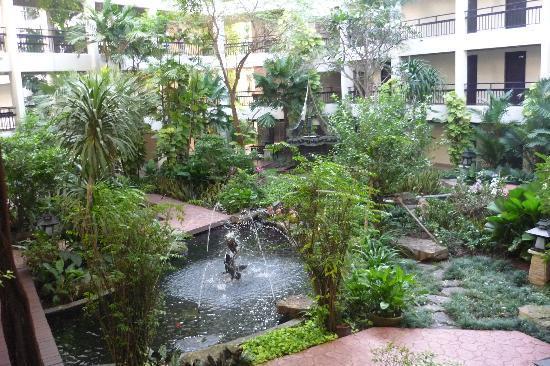 Siam Bayshore: Hotel gardens