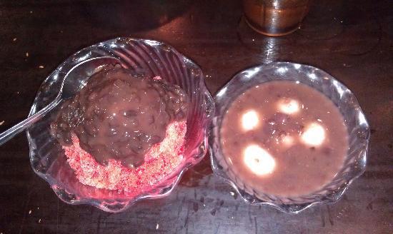 The Tsukiji Fish Market and Restaurant: Stawberry Shave Ice w/ Adzuki Beans and Zenzai